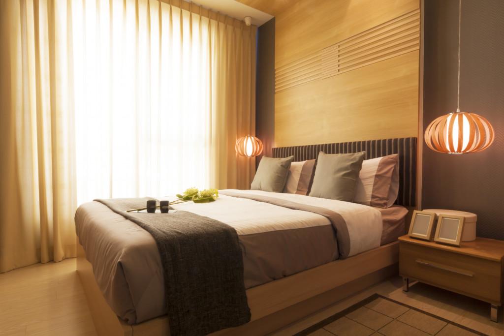 hotel room concept