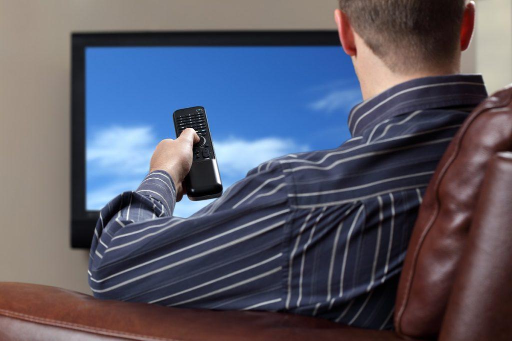 turning tv off