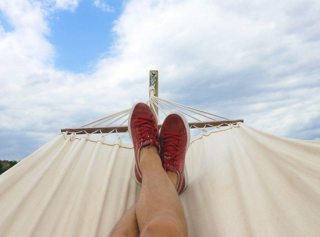 feet up hammock